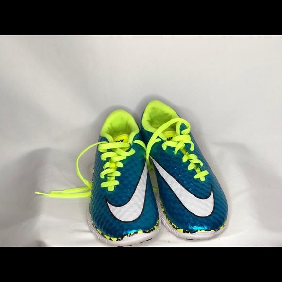Nike Shoes   Boys Blue Lime Green
